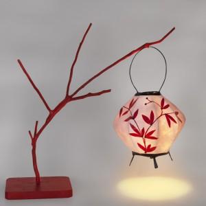 lampara china colgador