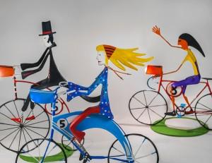 chica ciclista